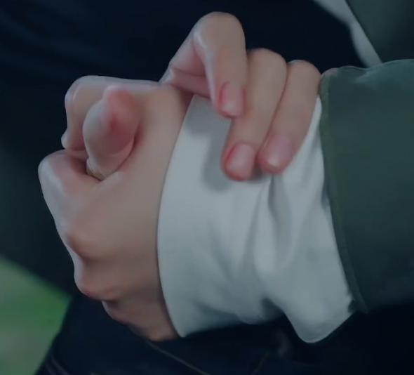 hand-holding...